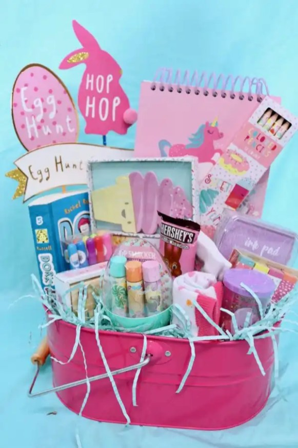 Easter Basket for Tween Girl