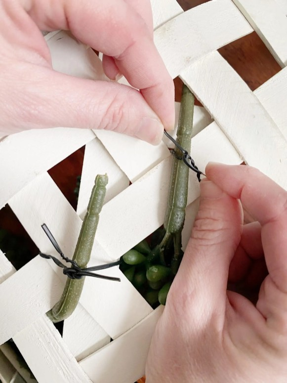 diy spring wreath 6