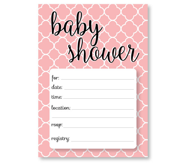 Printable Baby Shower Invitation Templates Free