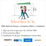 Zingoy Rs 100 On Sign Up With Refer And Earn (Redeemable To Bank)