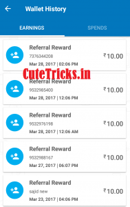 Referral Reward Proof