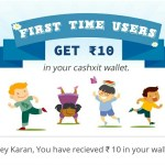 (Expired) [Free Recharge] Cashxit App – Rs 10 On Sign Up + Rs 10 Per Refer