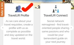 travelur website