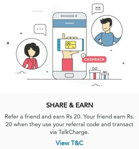 TalkRecharge App