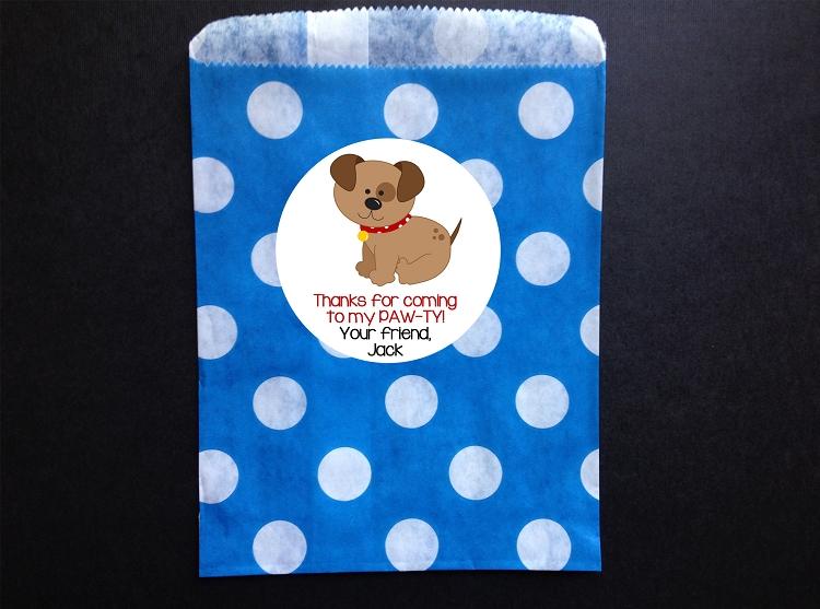 puppy dog birthday party invitations boys