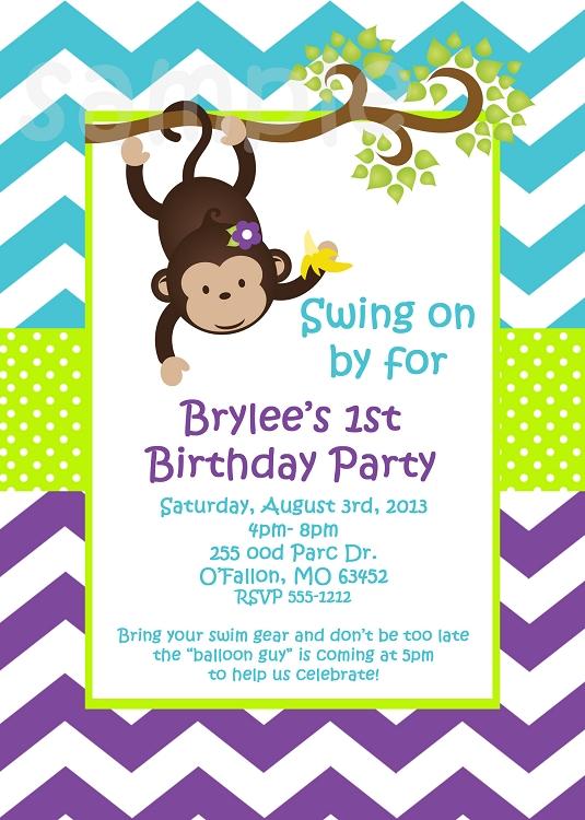 Printable 15 Invitations