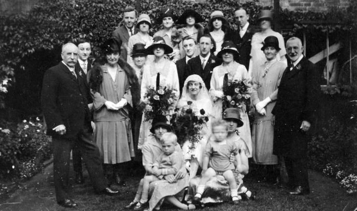 Sydney Howes rear left, William John Cullum front right