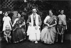 The May family in India, about 1935