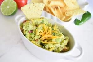 cheesy guacamole old photo