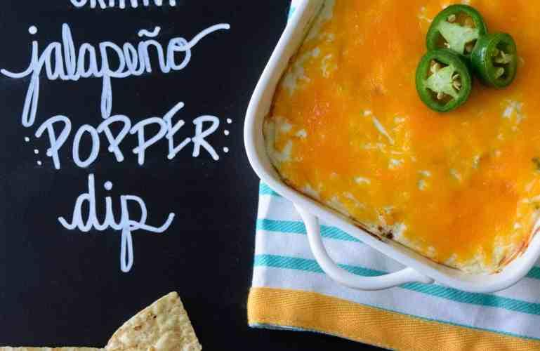 Skinny Jalapeño Popper Dip
