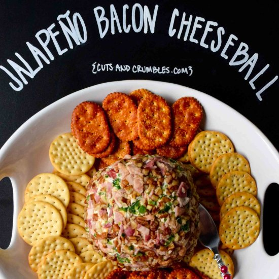 Jalapeño Bacon Cheese Ball