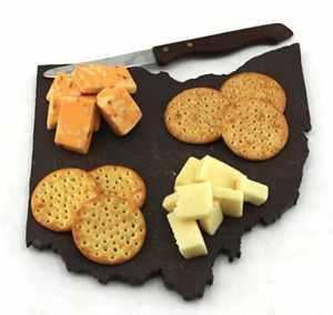 Ohio Slate Cheese Board