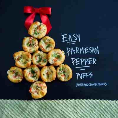 Easy Parmesan Pepper Puffs