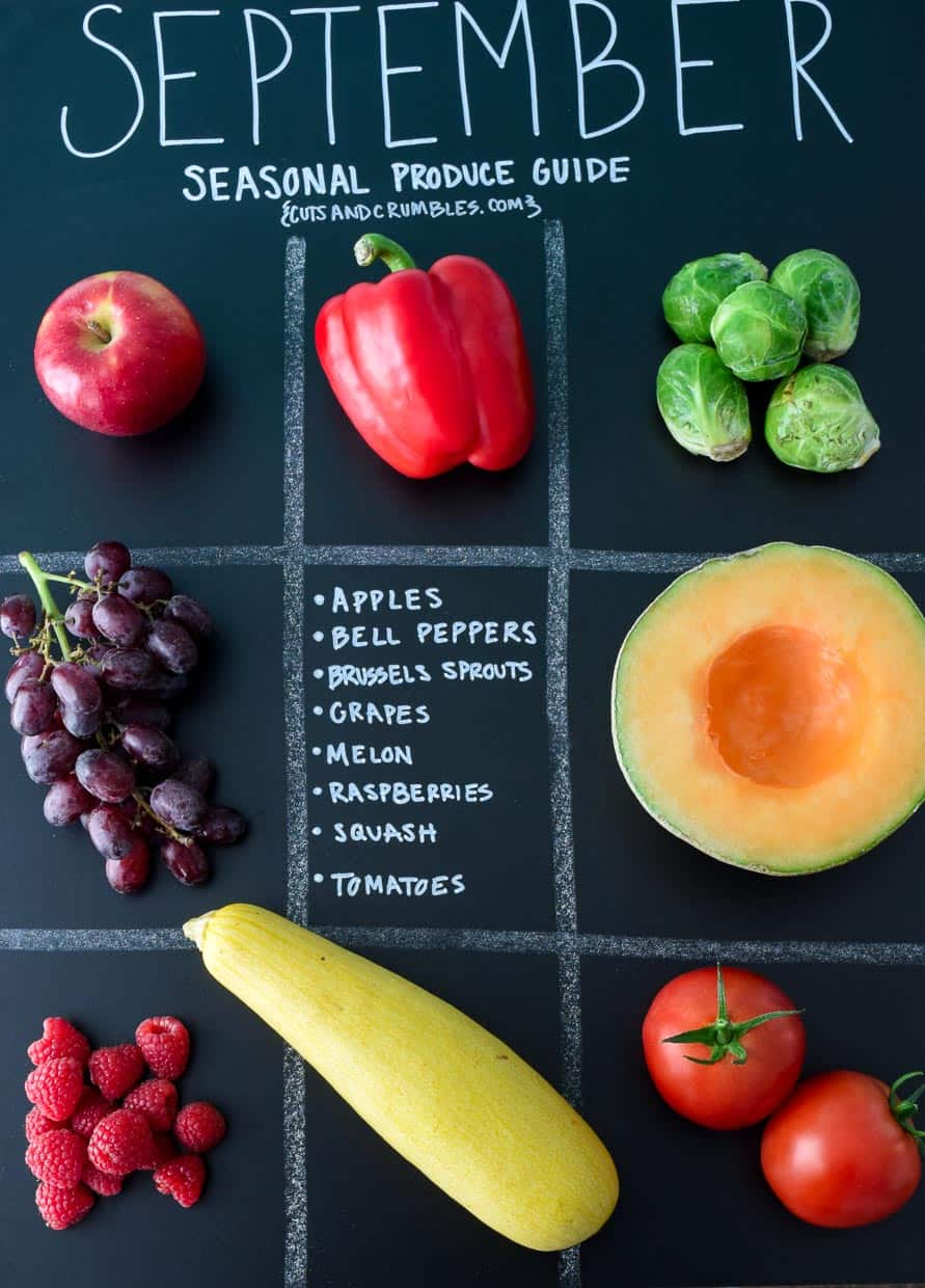 September Seasonal Produce Guide