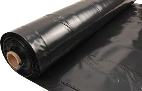 Black 6 Mil Vapor Barrier