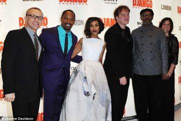 Django Unchained Premiere