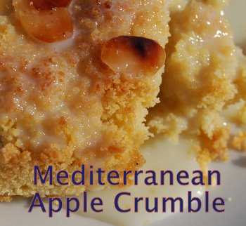 Apple Crumble Recipe With A Spicy Mediterranean Accent