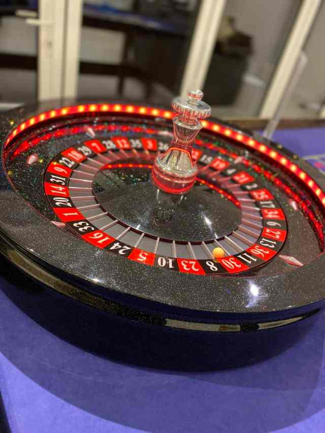 roulette wheel cutting