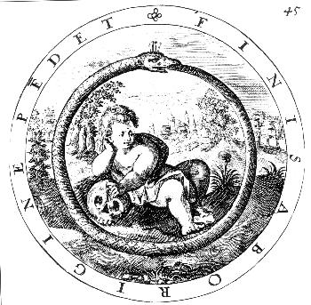 Ouroboros, Child and Skull, Death and Rebirth