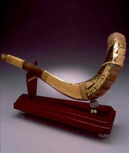 Third Temple - Gold Shofar