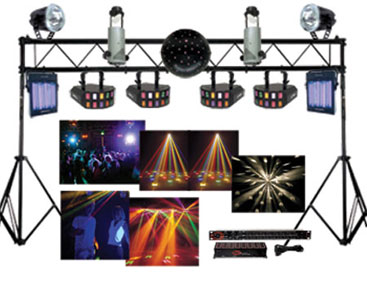 advanced DJ lighting package
