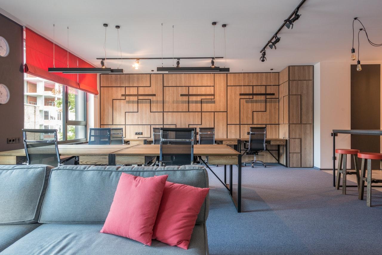 Comfortable textures in Work Space