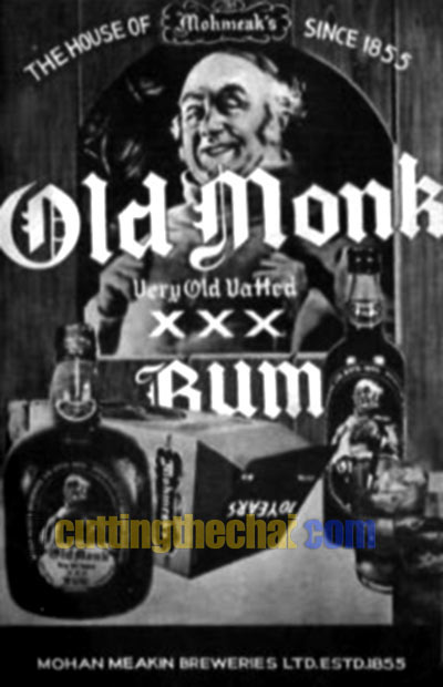 Old Monk ad from 1969