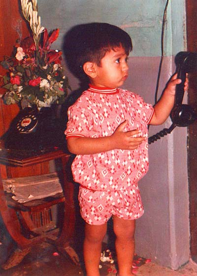 Receiving one of the first of many phone calls