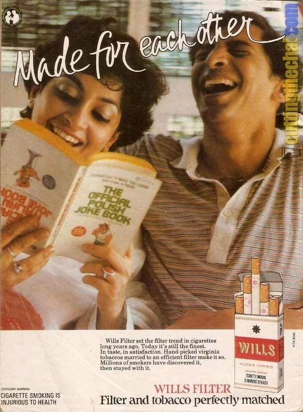 Wills Filter ad - 1989
