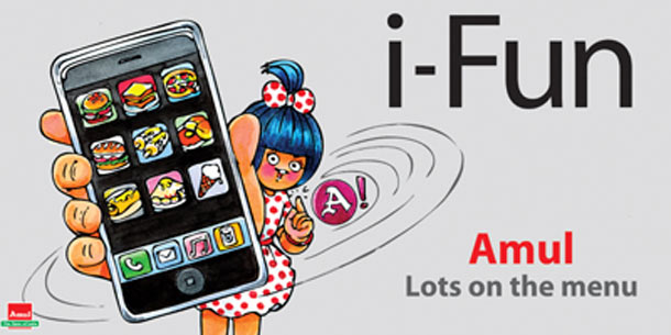 Amul India iPhone launch