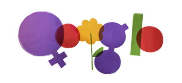 Women's Day Google doodle the original version