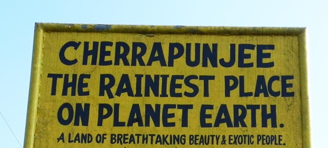 Cherrapunjee - the Rainiest Place on Planet Earth