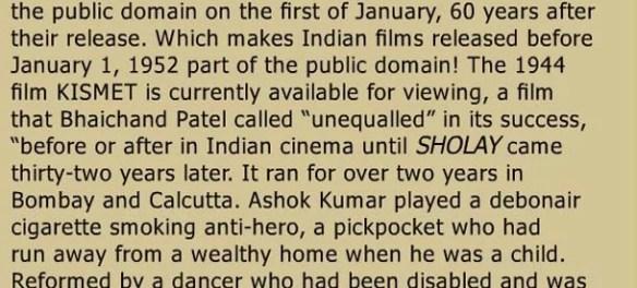 Cine Blitz on The India Public Domain Movie Project