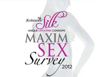 Kohinoor Maxim Sex Survey