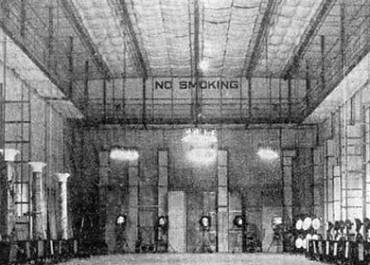 Inside the original Bombay Talkies (photograph from 1942)