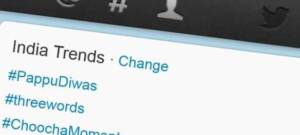 Why what's trending on Twitter in India is largely inconsequential