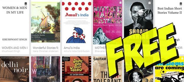 Download for free: 40 HarperCollins India ebooks on Google Play