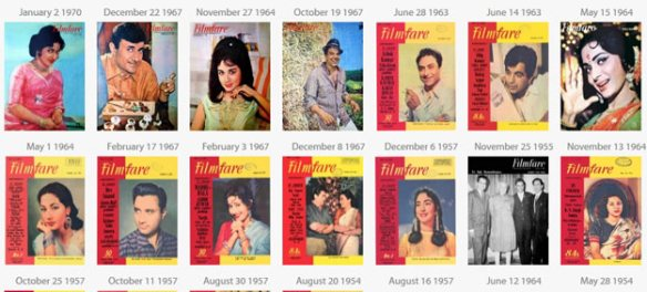 At Rs 100/issue buy e-versions of Filmfare magazine from 60 years ago
