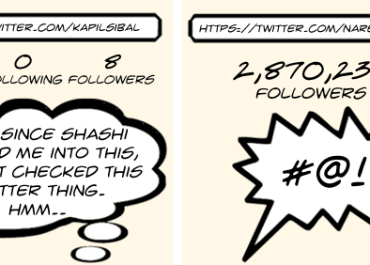 Comic: Kapil Sibal joins Twitter