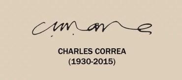 Charles Correa signature
