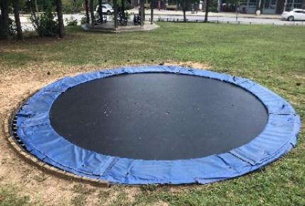 Best in ground trampoline