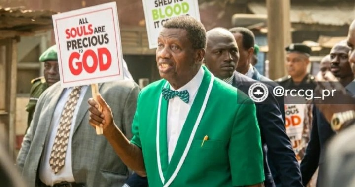 Mother of All Protests: Pa Enoch Adeboye Shocks The Nation, Aso Rock Panics.