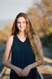 Evie Daniels, Co-Valedictorian