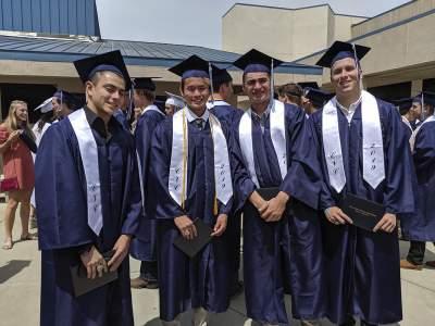 HS graduates from CVC