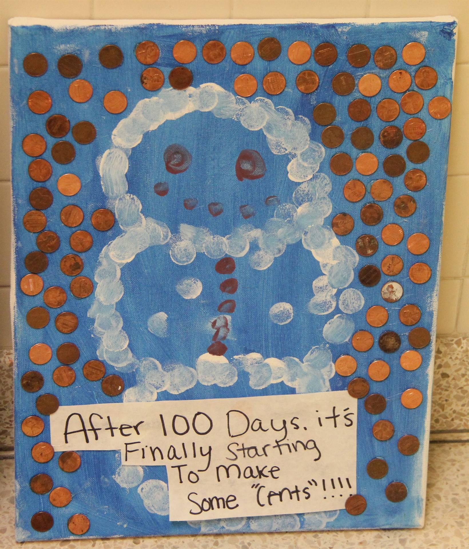 100 days of school at port dickinson
