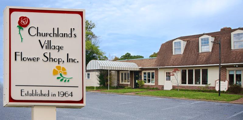 Churchland's Village Flower Shop Home
