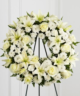 The FTD® Treasured Tribute™ Wreath