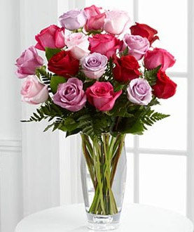 The FTD® Captivating Color™ Rose Bouquet by Vera Wang