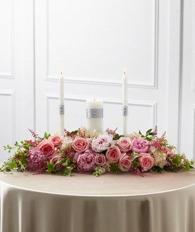 The FTD® Worldwide Romance™ Unity Candle Arrangement