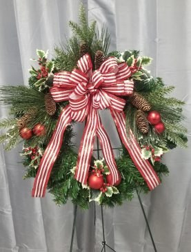 Candy Cane Christmas! wreath